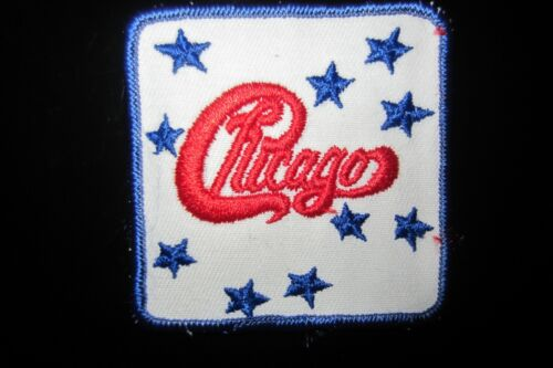 Vintage Chicago Rock Music Patch In Mint Condition!