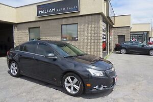 2012 Chevrolet Cruze LT Turbo Beige Leather Int, Sunroof, Blu...