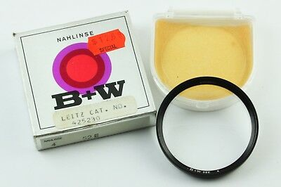 190897 B + W  52E No.4 Close Up Lens Filter 52mm Threads In Box