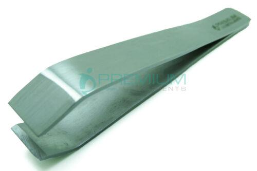 PREMIUM INSTRUMENTS Tweezers 8.5cm Straight Broad End Universal Instruments