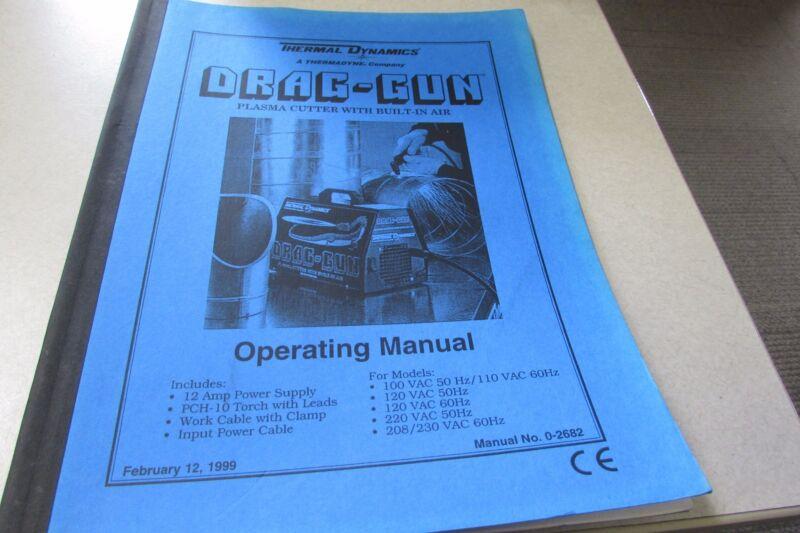 Thermadyne Thermal Dynamics Drag-Gun Operating Manual