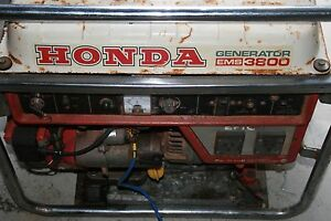 Honda generator Safety Bay Rockingham Area Preview