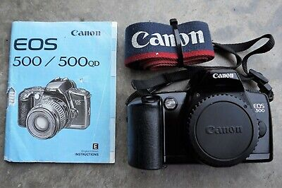 Canon EOS 500 Film Camera Body Only (Used)