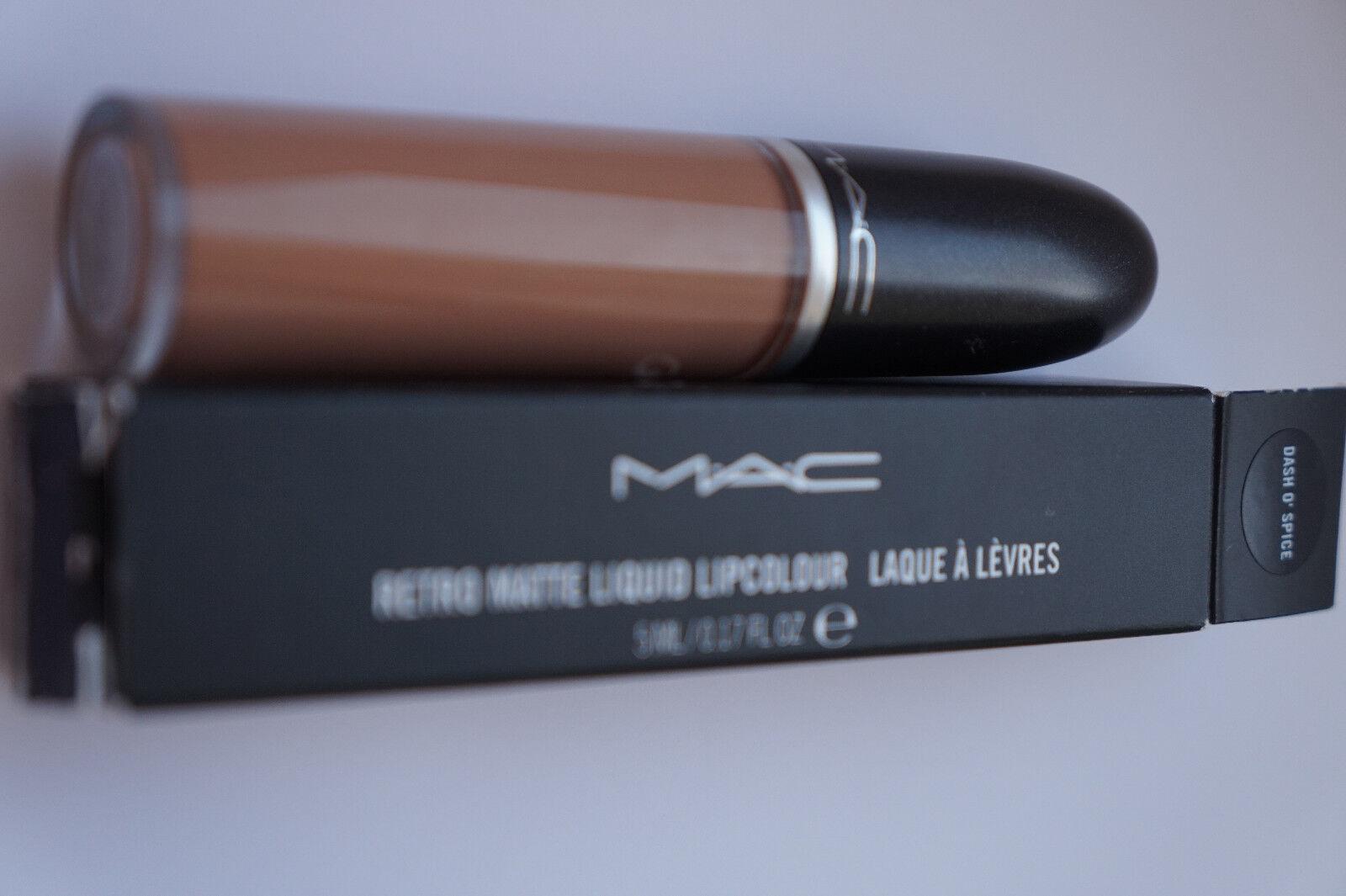 Mac Lippenstift Lipstick  Matte  retro matt DASH O SPICE Kylie Jenner  braun OVP
