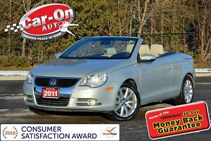 2011 Volkswagen Eos 2.0 TSI LEATHER HTD SEATS LOADED