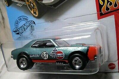 Hot Wheels Custom!!    Gulf `67  Camaro.. Real Rider's.. Zgrafx KusTomZ