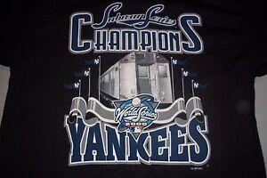 Subway Series Ny Yankees 2000 World Series Champions T
