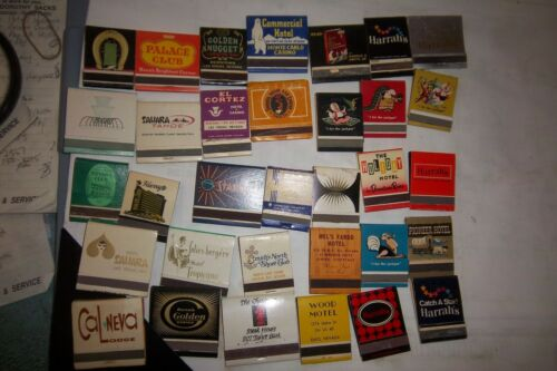 33 Vintage Front Strike Casino Matchbooks Some No Longer Exist
