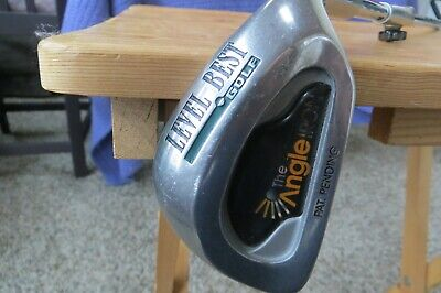 Level Best Golf  The Angle Iron  RH  Steel Shaft