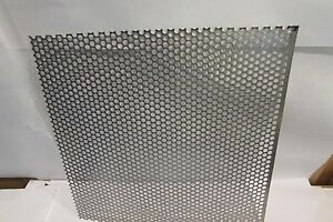 20 GA. 304 STAINLESS STEEL PERFORATED SHEET 1/4