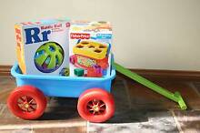 Pull-along Wagon with Baby's First Blocks and Rattle Ball—Item B Albany Creek Brisbane North East Preview