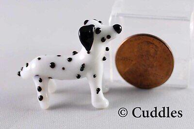 Dog Puppy Black White Spots Small New (Mini Dalmation)