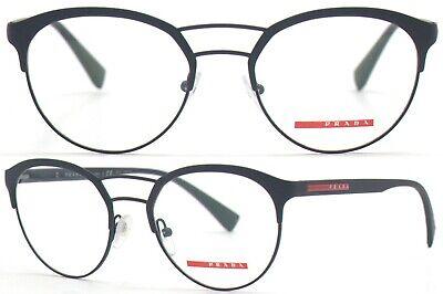 Prada Linea Rossa Brillenfassung PS52HV DG0-1O1 52mm schwarz Vollrand 441A 33