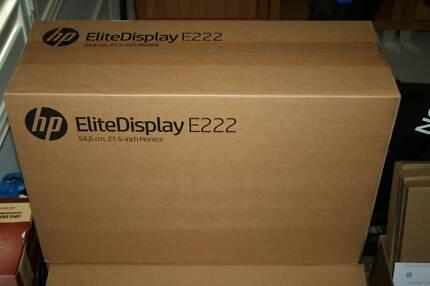 New HP EliteDisplay E222 21.5inch Full HD Screen 4Y Warranty