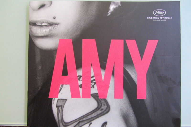 *AMY Press Kit from Cannes 2015 for the Amy Winehouse Documentary*