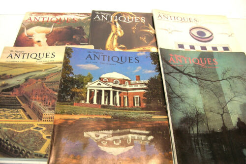 Antiques The Magazine 1972-1999 Six Issues
