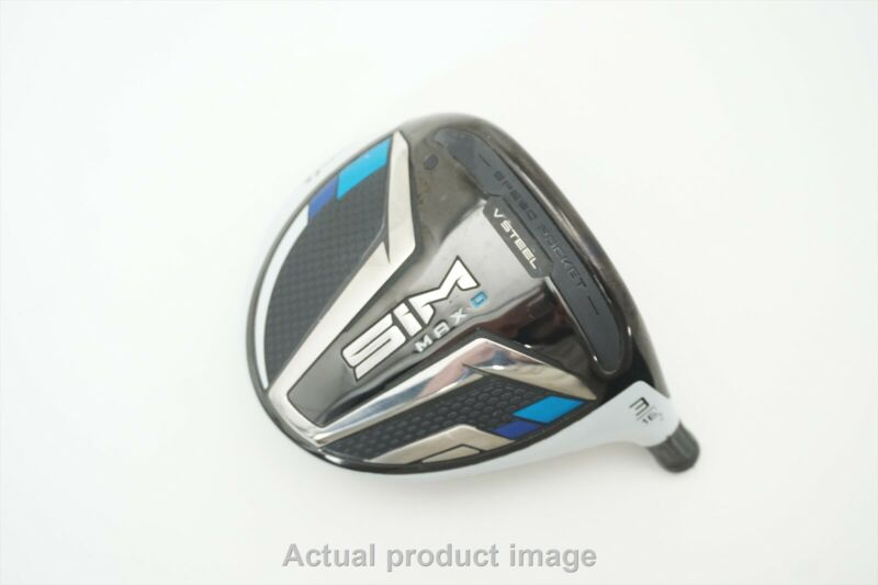 TaylorMade SIM Max D 16.0* #3HL Wood Club Head Only VGOOD CONDITION SEE NOTES