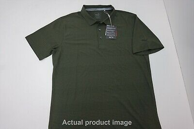 New Puma Golf Aston Polo Mens Size Medium Forest Night 214A  Shirt Clothing