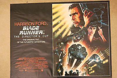 Blade Runner 1992 Directors Cut Original UK Quad Poster Rolled