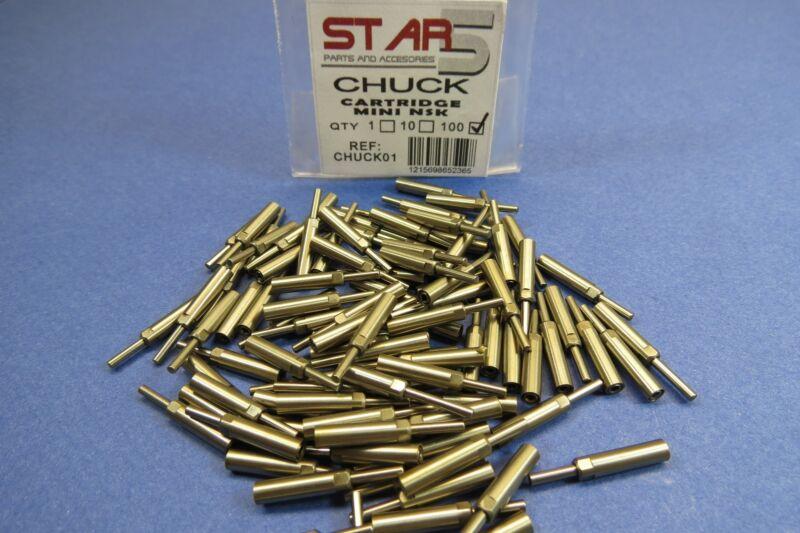 Dental Handpiece Air Chuck Cartridge Mini Compatible Pack /10 Pcs NSK