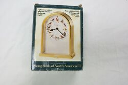 Howard Miller 645-405 Songbirds of North America III Table Clock