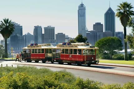 Custom Built 'Perth Tram and Trailer' Omnibus