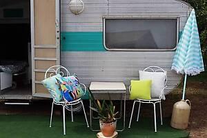 Gorgeous restored Vintage 1968 Franklin Caravan. Moorooka Brisbane South West Preview