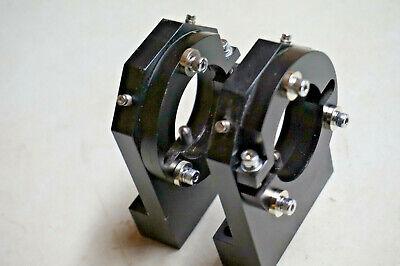 2 Adjustable Optical Lab Bench Mounts 1-1116 Melles Griot Lasers Others