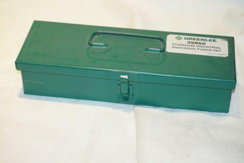 Greenlee 39860 Standard Industrial Knockout Punch Set   Complete Set