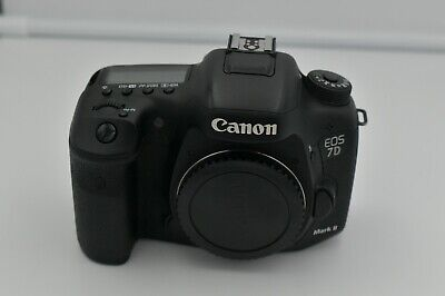 Canon EOS 7D Mark II  20.2MP Digital SLR Camera - Low Shutter Count