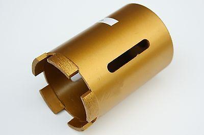 Diamant-Bohrkrone 82 x 100 mm mit M16-Anschluss und 5 Segment für Handwerker