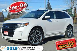 2014 Ford Edge Sport AWD LEATHER NAV PANO ROOF HTD SEATS CAM