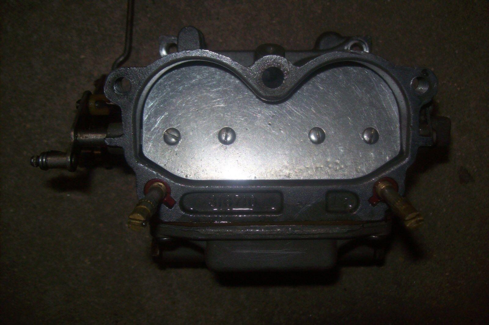 Evinrude Johnson OMC 125hp V4 Carburetor Carb 316710 1 5/16 Outboard Boat Motor