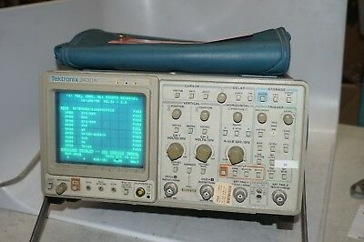 Tektronix 2430a Digital Oscilloscope 150mhz 2 Channel Measuring Unit