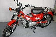 Honda Postie CT110 Motorbike 2012 model 34000ks in ex cond Cowra Cowra Area Preview