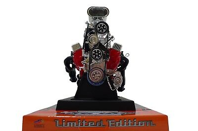 Chevy Small Block SBC 350 Hood Scoop V8 Model Engine Diecast 1:6 Motor Replica