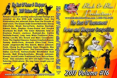 2011 Best Karate Martial Arts Tournament Weapons Competition #16 DVD kata