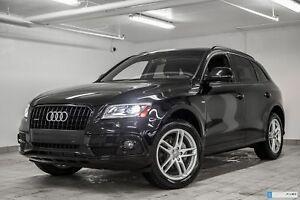 2015 Audi Q5 2.0T TECHNIK S-LINE BLACK OPTICS NAVIGATION