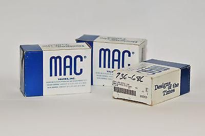 Mac Valve 45a-l00-dffe-1bk Didde Part 736-686