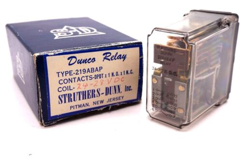 NEW STRUTHERS DUNN 219ABAP RELAY