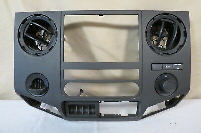 ✅ 11 12 13-16 Ford F350 F250 Radio AC Heater Climate Control Bezel w/ Vents (Hold Glasses On Face)