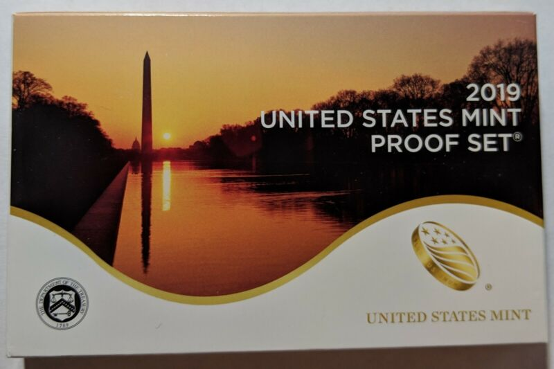 2019 S US Mint Proof Set - In Stock - 10 Coins                  No Extra W Cent