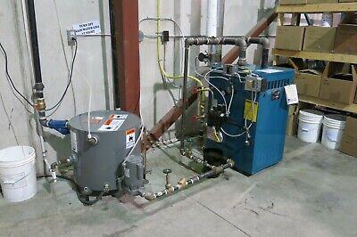 2013 Burnham Mod In5 86000 Btu Natural Gas Steam Boiler W Condensate Tank