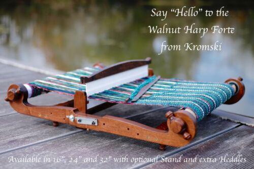 Kromski Harp Forte Rigid Heddle Walnut Loom 32 Inch Bonus Free Shipping B/O