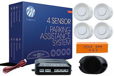 autolampen-hsk Einparkhilfe  Rückfahrwarner PDC - CP7 weiße Sensoren