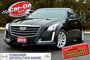 2016 Cadillac CTS 3.6L Luxury AWD LEATHER NAV PANO ROOF LOADED