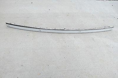 04 Chrome Plastic Grille Grill - 02 03 04 05 BMW 745i il REAR Bumper Molding Trim Panel w Sensors OEM 51127033420