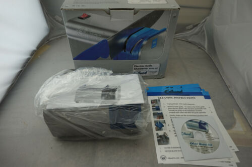 Open box Edlund 401 NSF Electric Knife Sharpener with Removable Guidance System