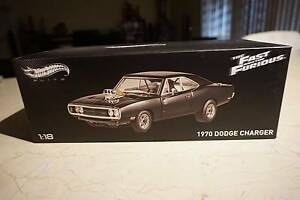 Hotwheels Elite 1/18 Dom's 1970 Dodge Charger Glenfield Campbelltown Area Preview
