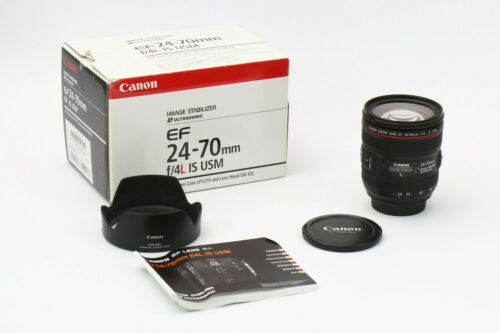 Canon EF 24-70mm 24-70 mm f/4 f4 IS USM Lens